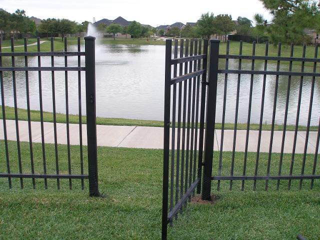 Wrought Iron Gate Katy, TX