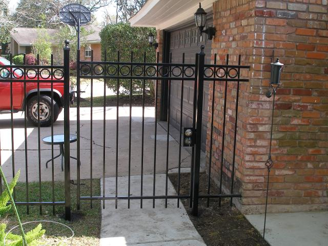 Iron Fence Repairs Katy, TX